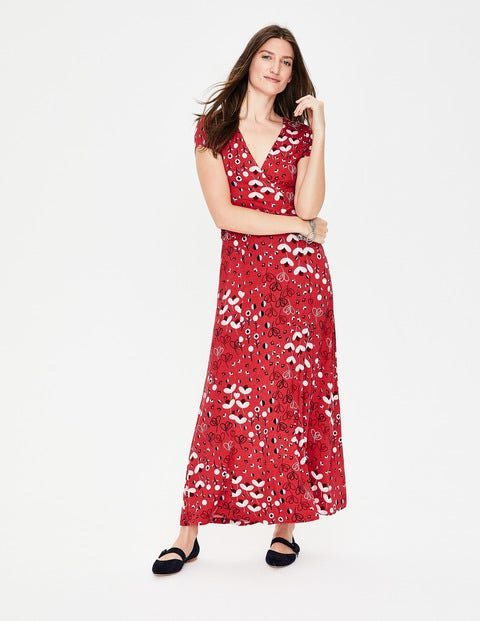 Lily Jersey-Kleid Red Damen Boden