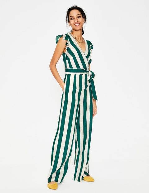 Mila Jumpsuit Green Damen Boden