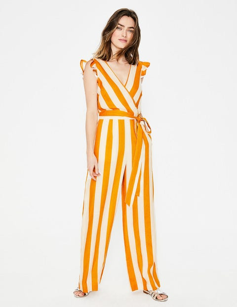 Mila Jumpsuit Yellow Damen Boden
