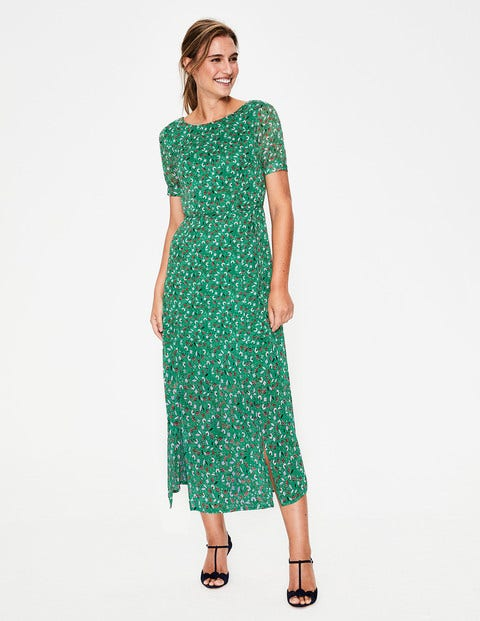 Jane Midikleid Green Damen Boden
