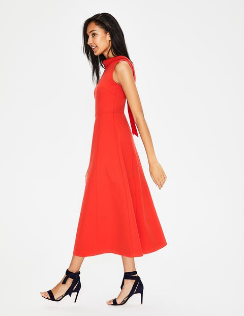 Aria Ponte-Midikleid Red Damen Boden