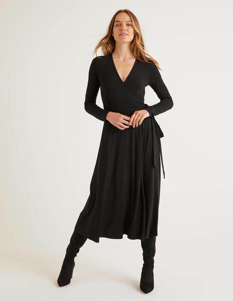 Laurie Jersey-Kleid Black Damen Boden