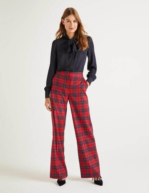 Inverness Hose Navy Damen Boden
