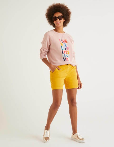 Daisy Chinoshorts Yellow Damen Boden