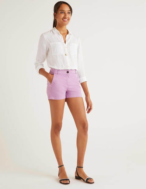 Daisy Chinoshorts Purple Damen Boden