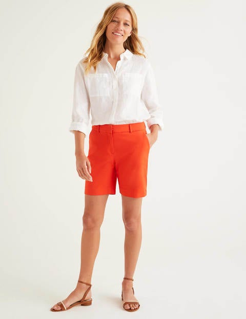 Richmond Shorts Orange Damen Boden