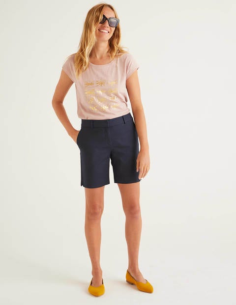 Richmond Shorts Navy Damen Boden