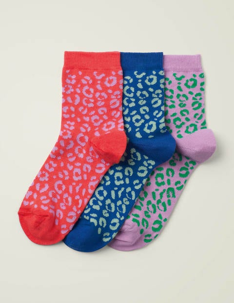 Knöchelsocken im 3er-Pack Green Damen Boden