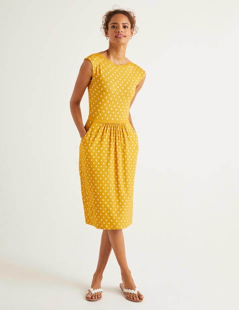 Eleanor Jerseykleid Yellow Damen Boden