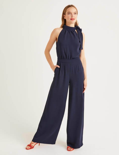 Angelica Jumpsuit Navy Damen Boden
