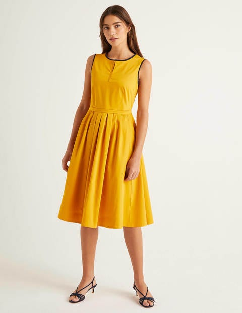 Maddie Kleid Yellow Damen Boden