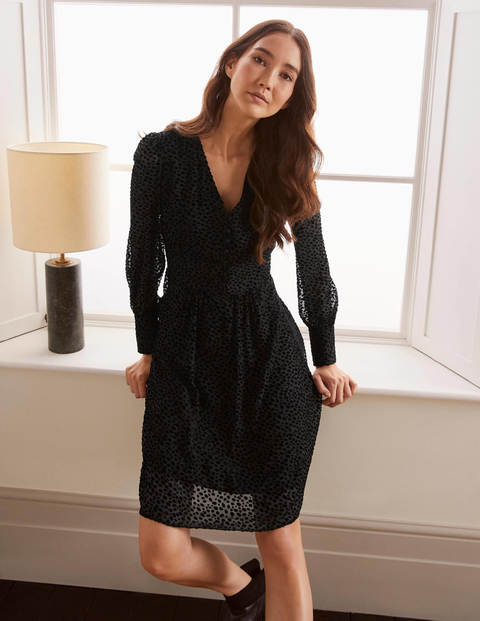 Dolores Kleid Black Damen Boden