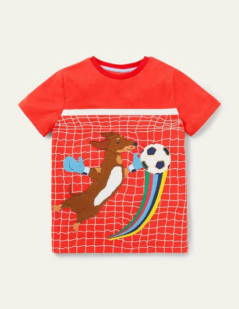 T-Shirt mit Action-Applikation RED Boden Boden