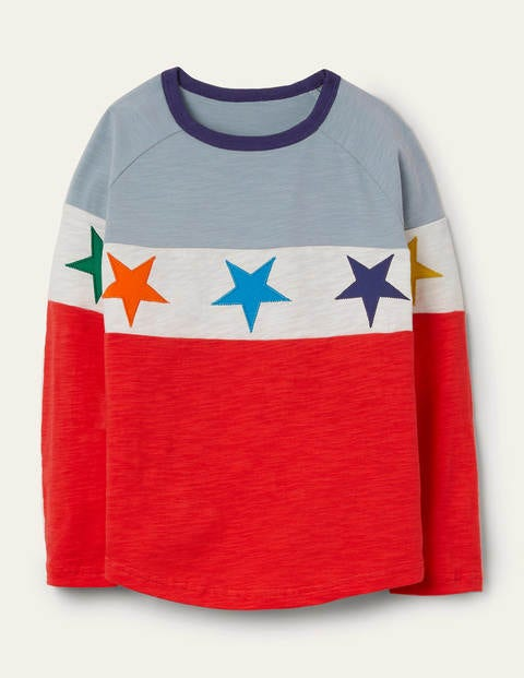 Raglan-T-Shirt Red Boden Boden