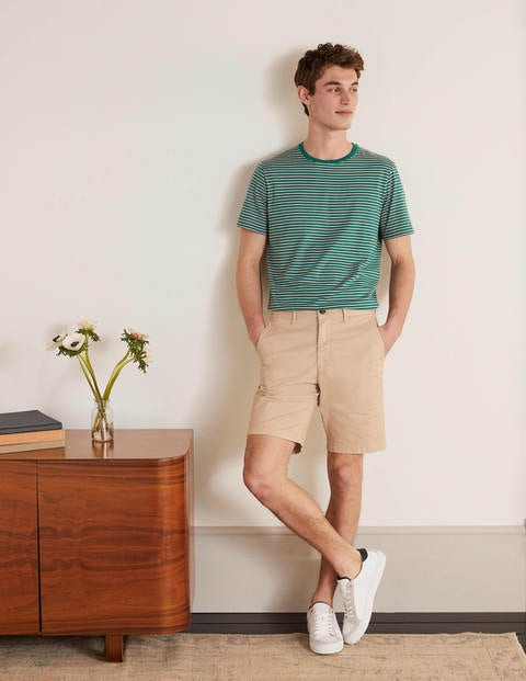 Chino-Shorts Natural Herren Boden
