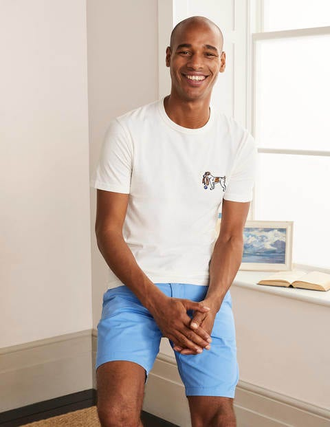 Kingston T-Shirt Sprout Embroidery Herren Boden