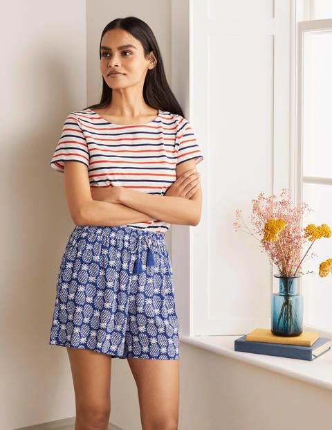 Bembridge Shorts Blue Damen Boden