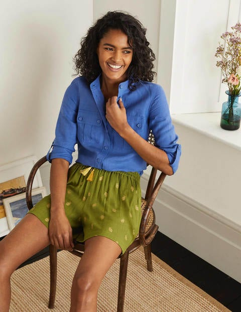 Bembridge Shorts Green Damen Boden