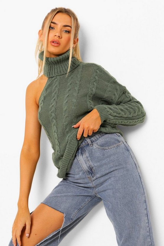 Womens Pullover Mit Cut-Out