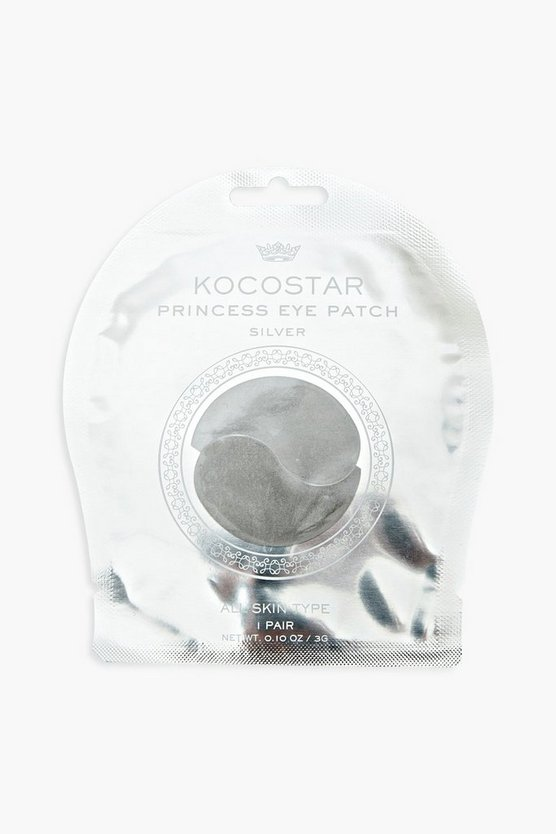 Womens Kocostar Princess Under Eye Patch Silver - Silber - One Size
