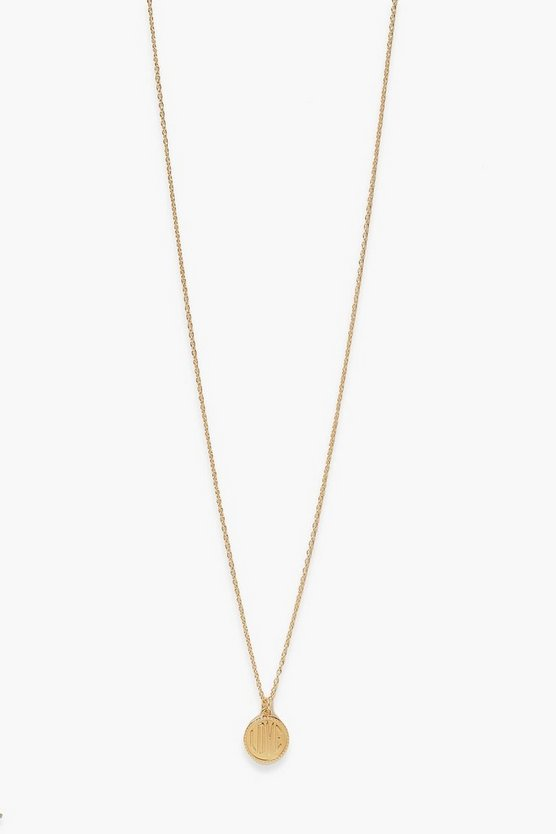Womens Love Halskette - Gold - One Size