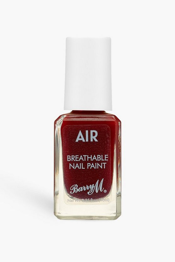 Womens Barry M Air Breathable Nagellack - Aftr Dark - Beerenrot - One Size