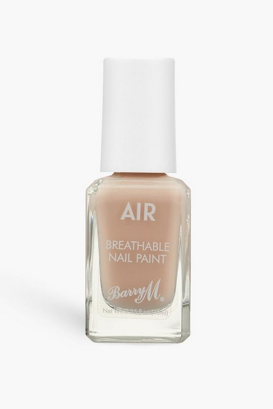 Womens Barry M Air Breathable Nagellack - Peachy - Pfirsich - One Size