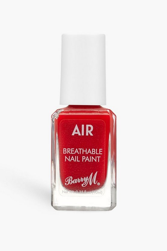 Womens Barry M Air Breathable Nagellack - Scarlet - Rot - One Size