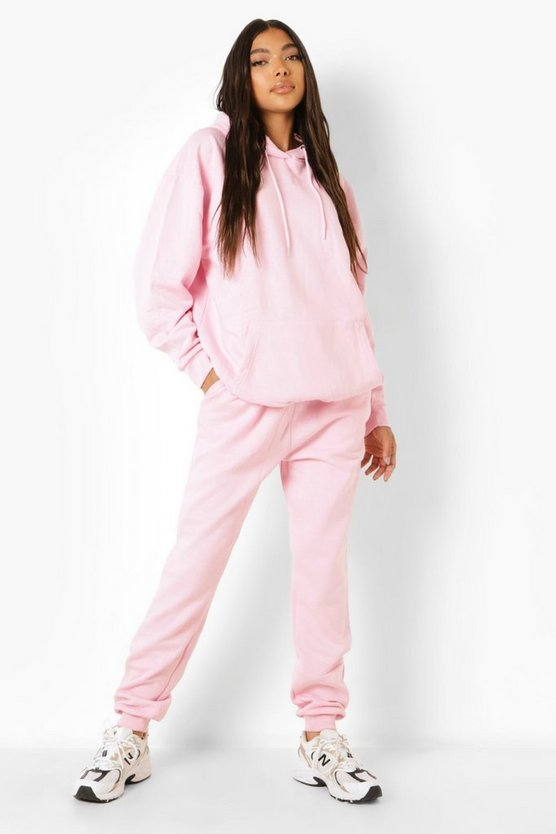 Womens Tall Recycelter Oversize Hoodie - Pale Pink - 38