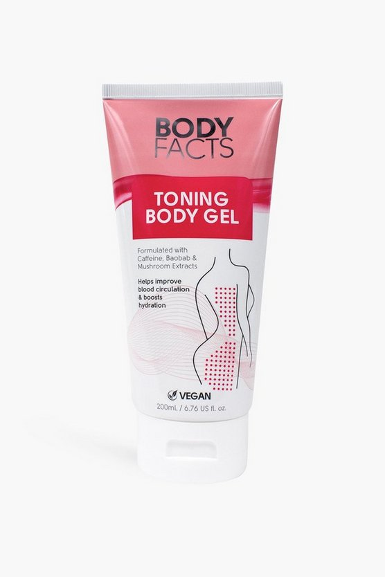 Womens Body Facts Toning Körper-Gel - Pink - One Size