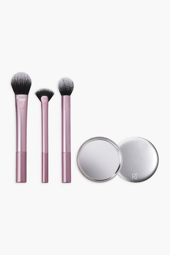 Womens Real Techniques - Irl Perfecting Finish Kit - Rosa - Einheitsgrösse