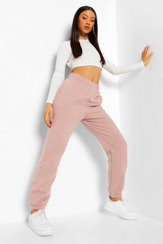 Womens Basic Jogginghose Regular Fit - Nerzbraun - Xl