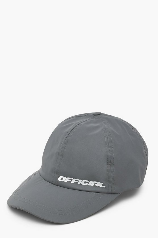Womens Official Reflektierende Kappe - Grey - One Size