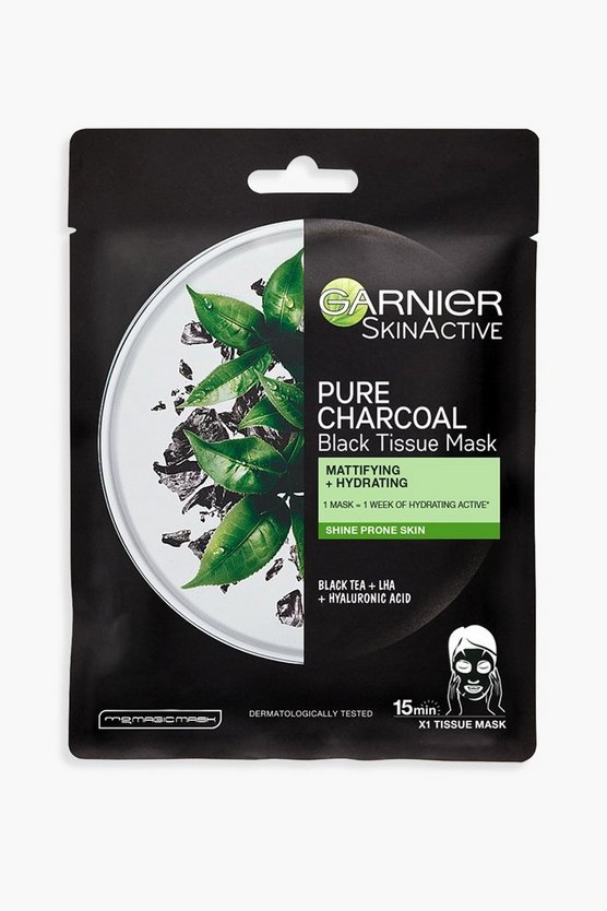 Womens Garnier Charcoal And Black Tea Purifying - Clear - One Size