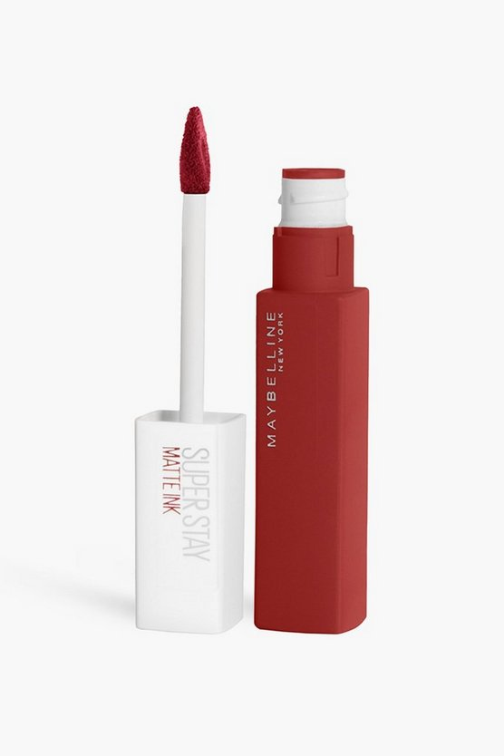 Womens Maybelline Superstay Matter Liquid Lipstick - Red - One Size