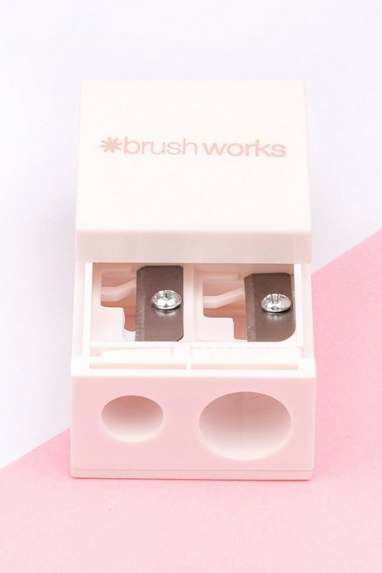Womens Brushworks Beauty-Spitzer - Pink - One Size