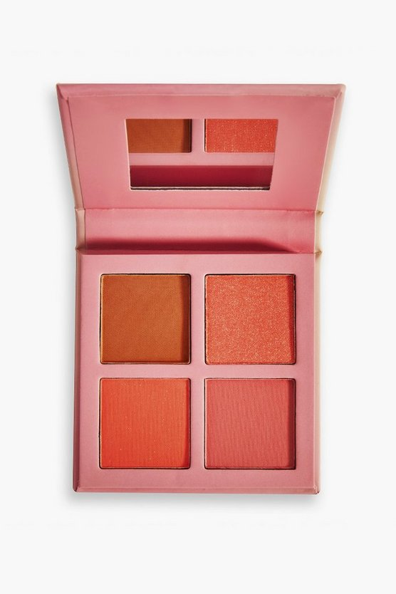Womens Makeup-Obsession Blush-Palette: Strawberry - Multi - One Size