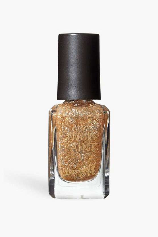 Womens Barry M Nail Paint - Majestic Sparkle - Gold - One Size