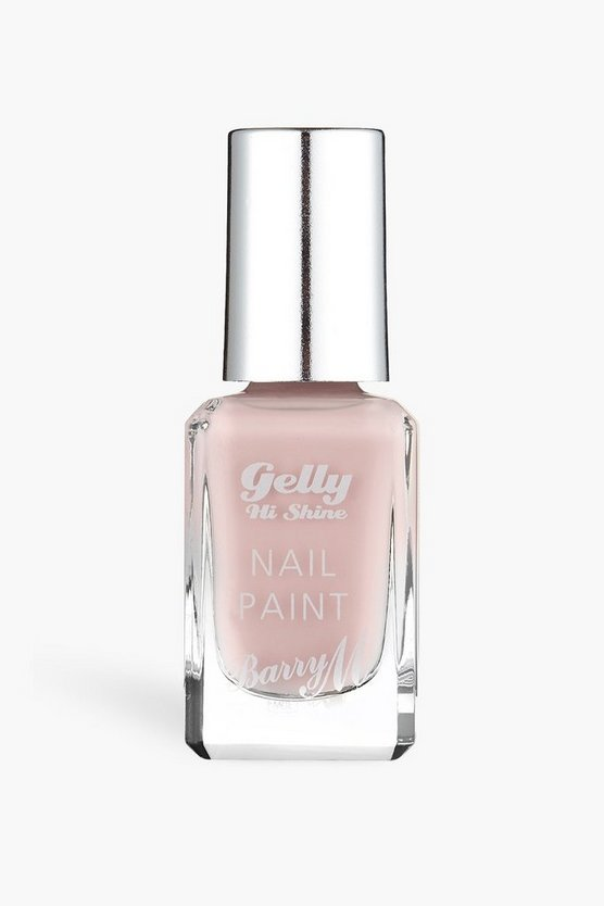 Womens Barry M Gelly Hi Shine Nail Paint- Pink Lemonade - Hellpink - One Size