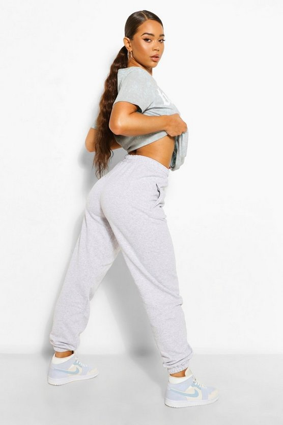 Womens Der Grundlegende Mix &Match Oversized Jogginghosen - Grau - Xl