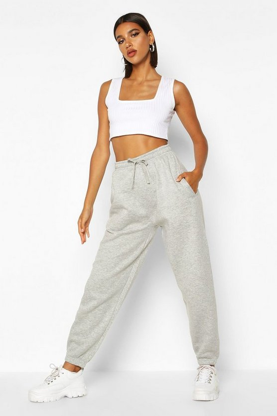 Womens Oversized Jogginghosen - Grau - M