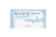 ACUVUE ADVANCE with HYDRACLEAR 1x6 Wochenlinsen