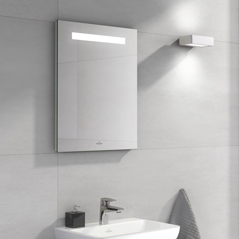 Villeroy & Boch More To See One Spiegel B: 50 H: 60 T: 3 cm mit LED-Beleuchtung A430A700
