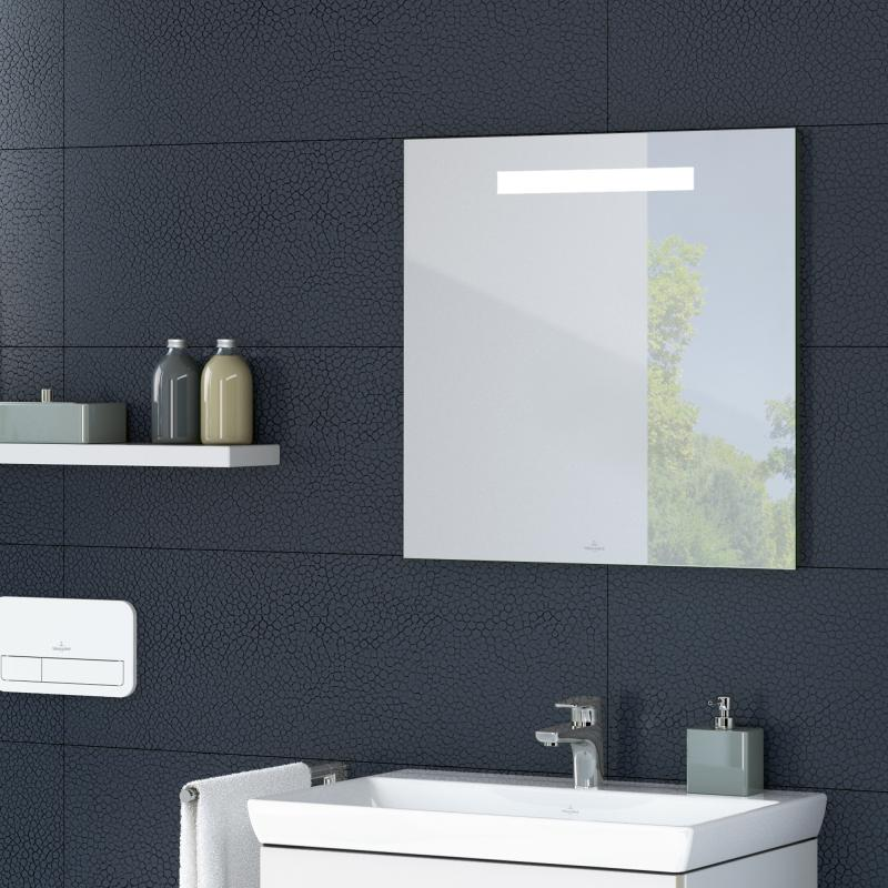 Villeroy & Boch More To See One Spiegel B: 60 H: 60 T: 3 cm mit LED-Beleuchtung A430A600