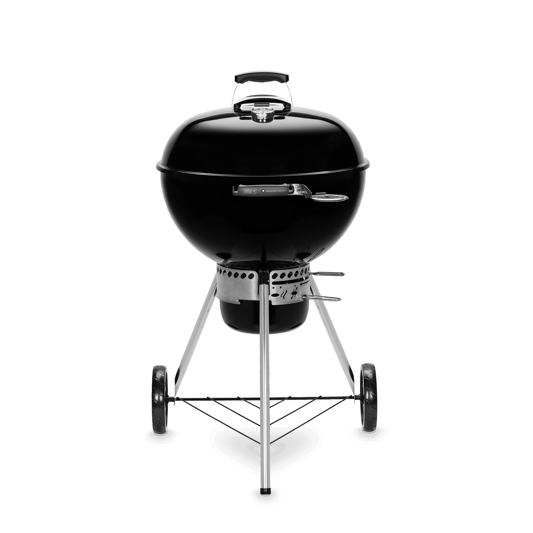 Master-Touch GBS E-5755 – Holzkohlegrill Ø 57 cm